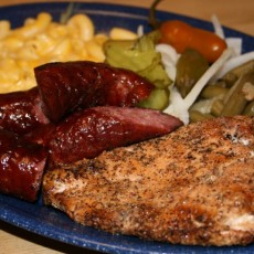 mcbee's new braunfels chicken and sausage